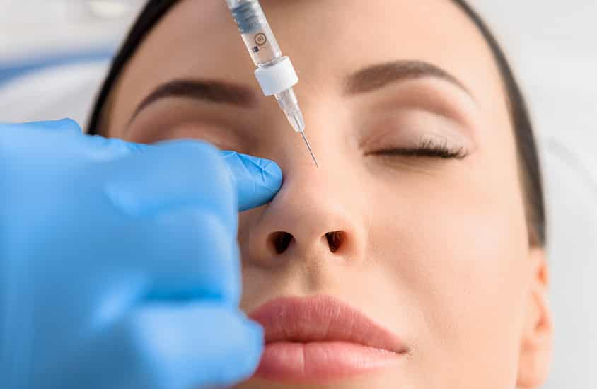 nose dermal filler blindness sydney cityskin