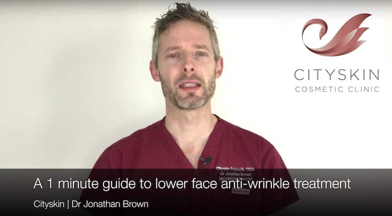 1 minute guide to lower face anti-wrinkle treatment