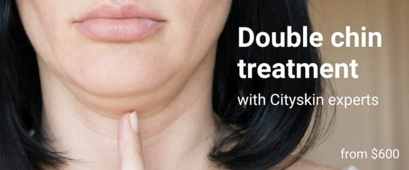 double chin reduction injection treatment melbourne sydney