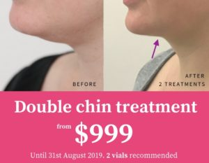 double chin special offers melbourne sydney